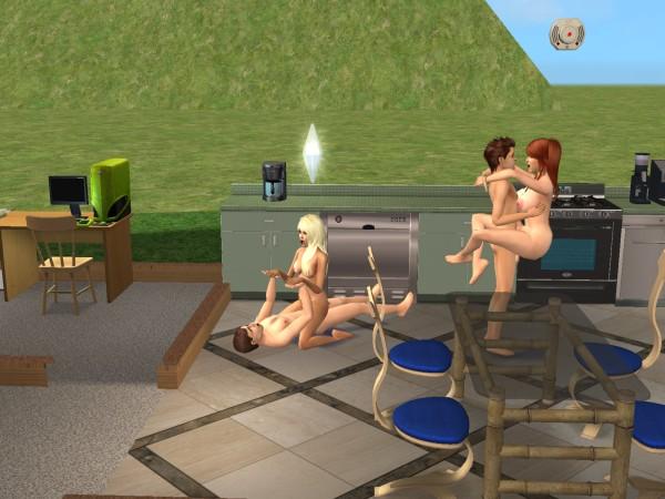 Порно в игре симс 2